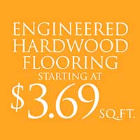 Engineered Hardwood Flooring $3.69 Sq. Ft.